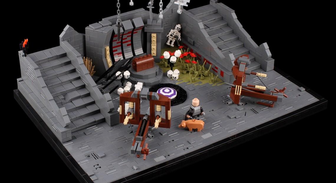 The Elder Scrolls Online – Zaintiraris Chamber - LEGO MOC