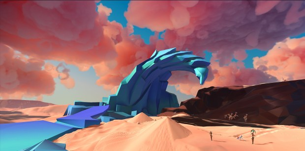 Contest: Give your PSVR rig some love with a copy of Paper Beast screenshot