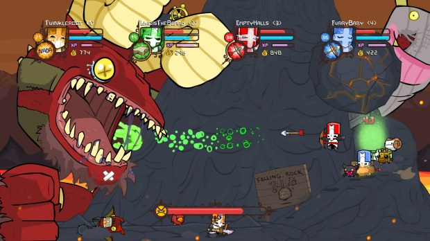 Castle Crashers and BattleBlock Theater are free to play for a week on PC screenshot
