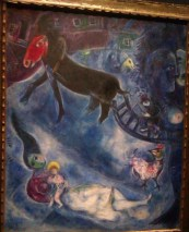 Chagall-Madone au traineau 1947