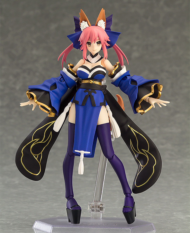 different types of anime figures, figma, fate grand order, fate series, tamamo