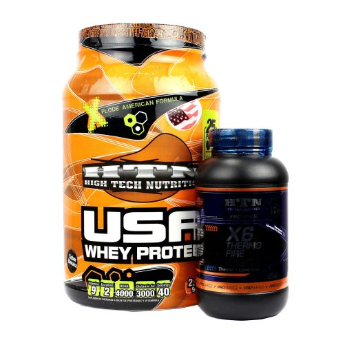 HTN COMBO USA WHEY + X6 THERMO FIRE