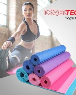 POWERTECH Yoga Mat (3/4/5/6/8/10 MM)