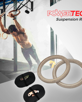 POWERTECH Anillas Con Kit de Suspension (Madera/Abs)