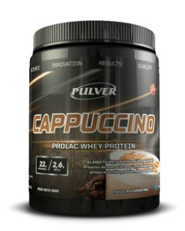PULVER Cappuccino Prolac Whey Protein (500/1000 Grs) Cafe