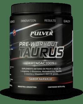 PULVER Pre Workout Taurus (400 Grs) Naranja