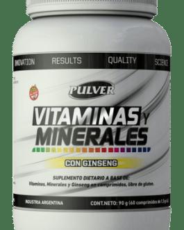 PULVER Vitaminas y Minerales (60 Comp)