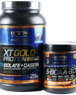 COMBO HTN: Bcaa 8.0 + XT Gold Protein