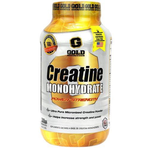 GOLD NUTRITION CREATINE MONOHYDRATE LADO 1