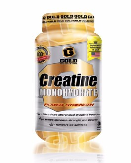 GOLD NUTRITION Creatina Monohidrato (300 Grs)