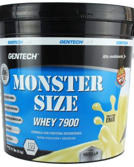 Whey Monster Size 7900 GENTECH (4 kg + 1kg de regalo)
