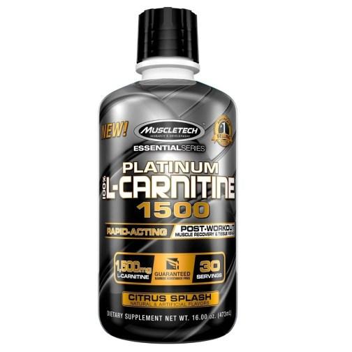 MUSCLETECH Carnitina Platinum 1500 (30 Serv)