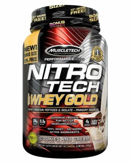 MUSCLETECH NitroTech Whey Gold (999 Grs)