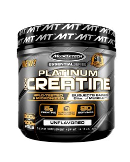 Creatina MUSCLETECH Platinum (400 Grs)
