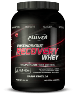 PULVER Post Workout Recovery (800 Grs) Frutilla