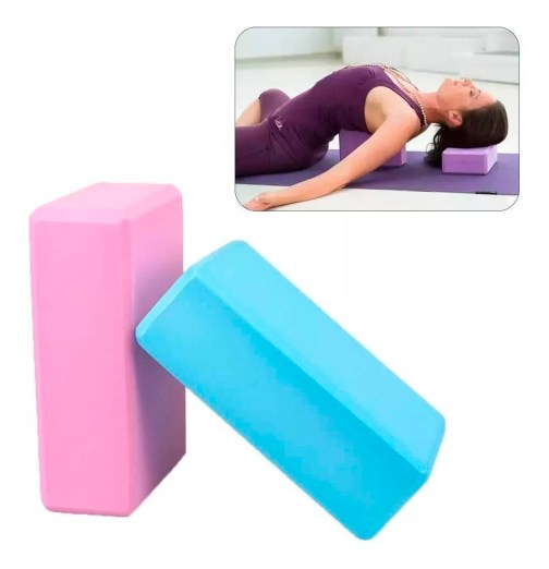 Powertech - Ladrillo de Yoga - Rosa - Modo De Uso 1