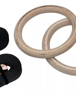 POWERTECH Anillas Con Kit de Suspension (Madera/Abs)