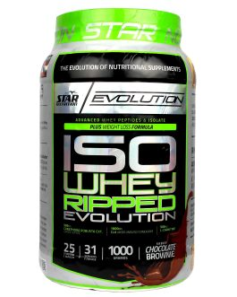 STAR NUTRITION ISO WHEY RIPPED EVOLUTION CHOCOLATE