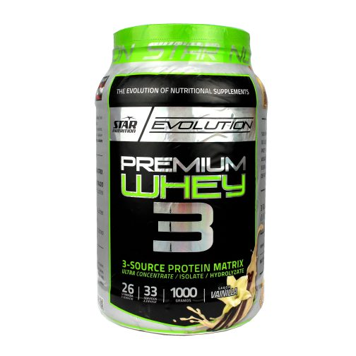 STAR NUTRITION PREMIUM WHEY 3 LADO 1