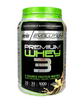 Premium Whey 3 STAR NUTRITION (1000 Grs)