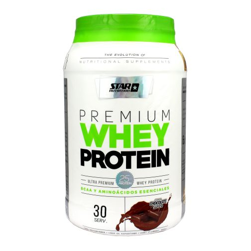 STAR NUTRITION WHEYPROTEIN 1000GRS CHOCOLATE