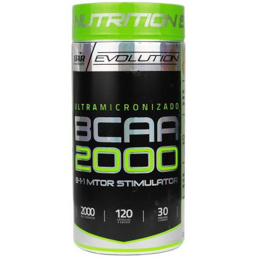 Star Nutrition BCAA 2000 x 120 Capsulas
