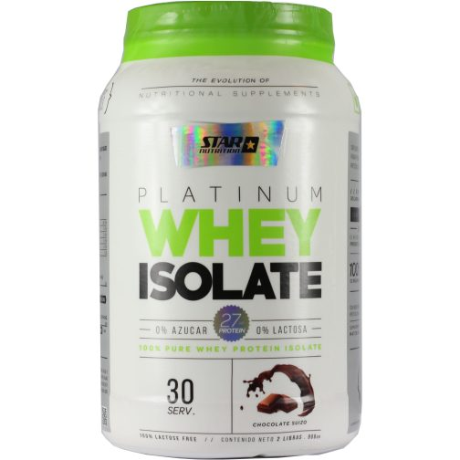 Star Nutrition Whey Protein Isolada 1000 Chocolate - Frente