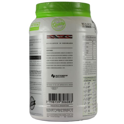 Star Nutrition Whey Protein Isolada 1000 Chocolate - Lado 4