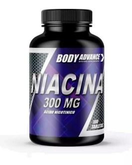 Niacina 300 BODY ADVANCE (100 Comp)