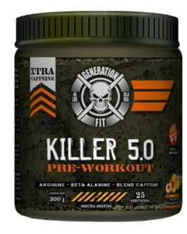 GENERATION FIT Killer 5.0 Pre Workout (300 Grs) – Peach Pineapple