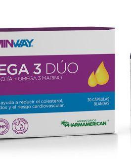 Omega 3 Dúo VITAMIN WAY (30 SoftGel)