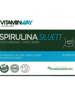 Spirulina Siluett VITAMIN WAY (30/60 Comp)