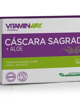 Cascara Sagrada + Aloe VITAMIN WAY (60 Comp)