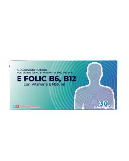 FRAMINGHAM PHARMA E Folic B6 B12 (30 Comprimidos)