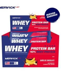 MERVICK Whey Protein Bar (12 Unidades)