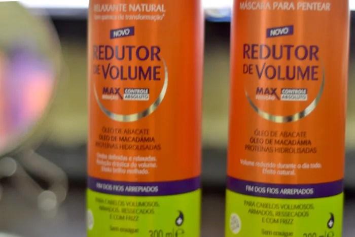 Relaxante natural capicilin e máscara redutora de volume
