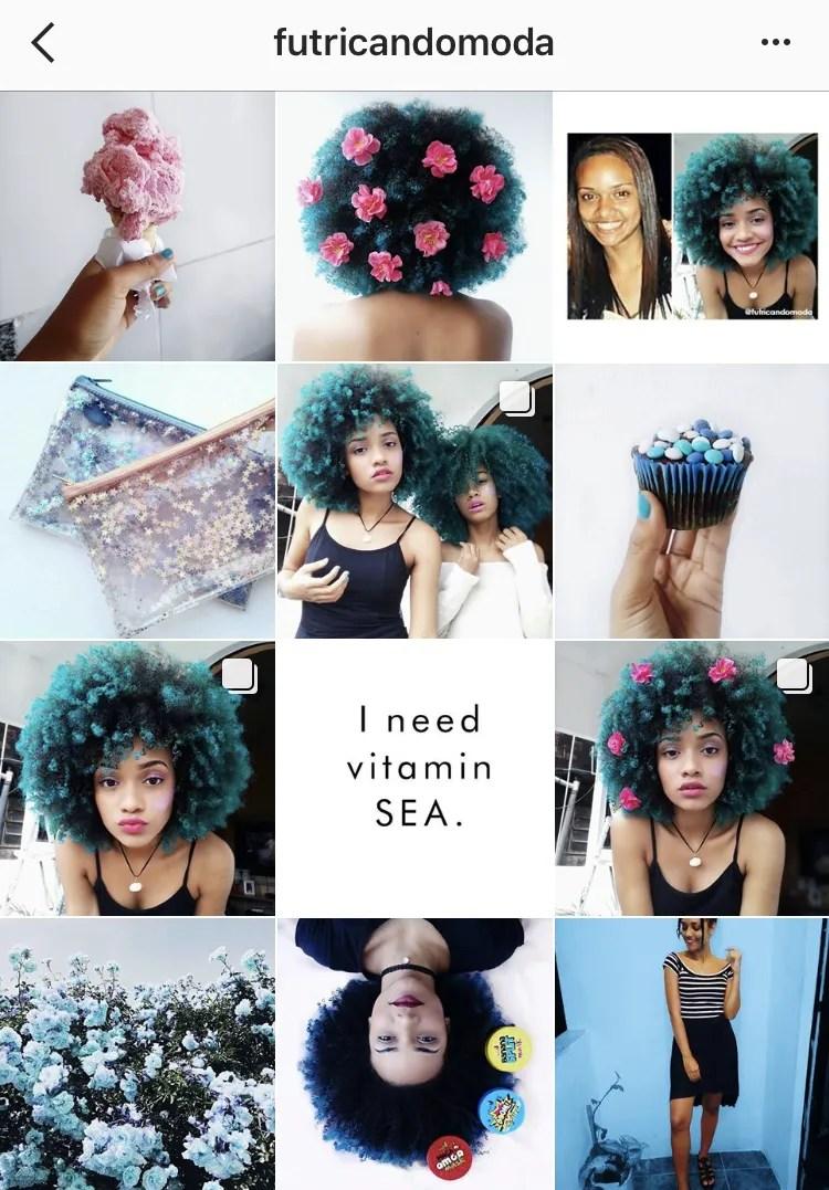 inspirações de crespos e cacheados para seguir no Instagram