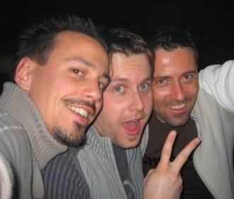 Seb, Manu, et Manu