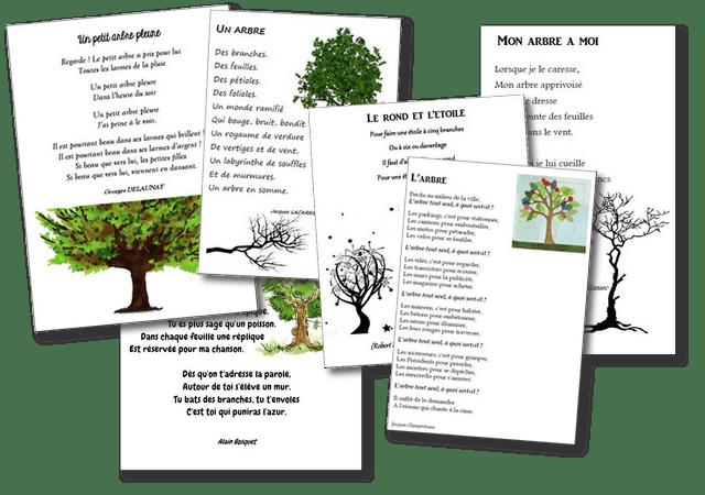 poésie arbres