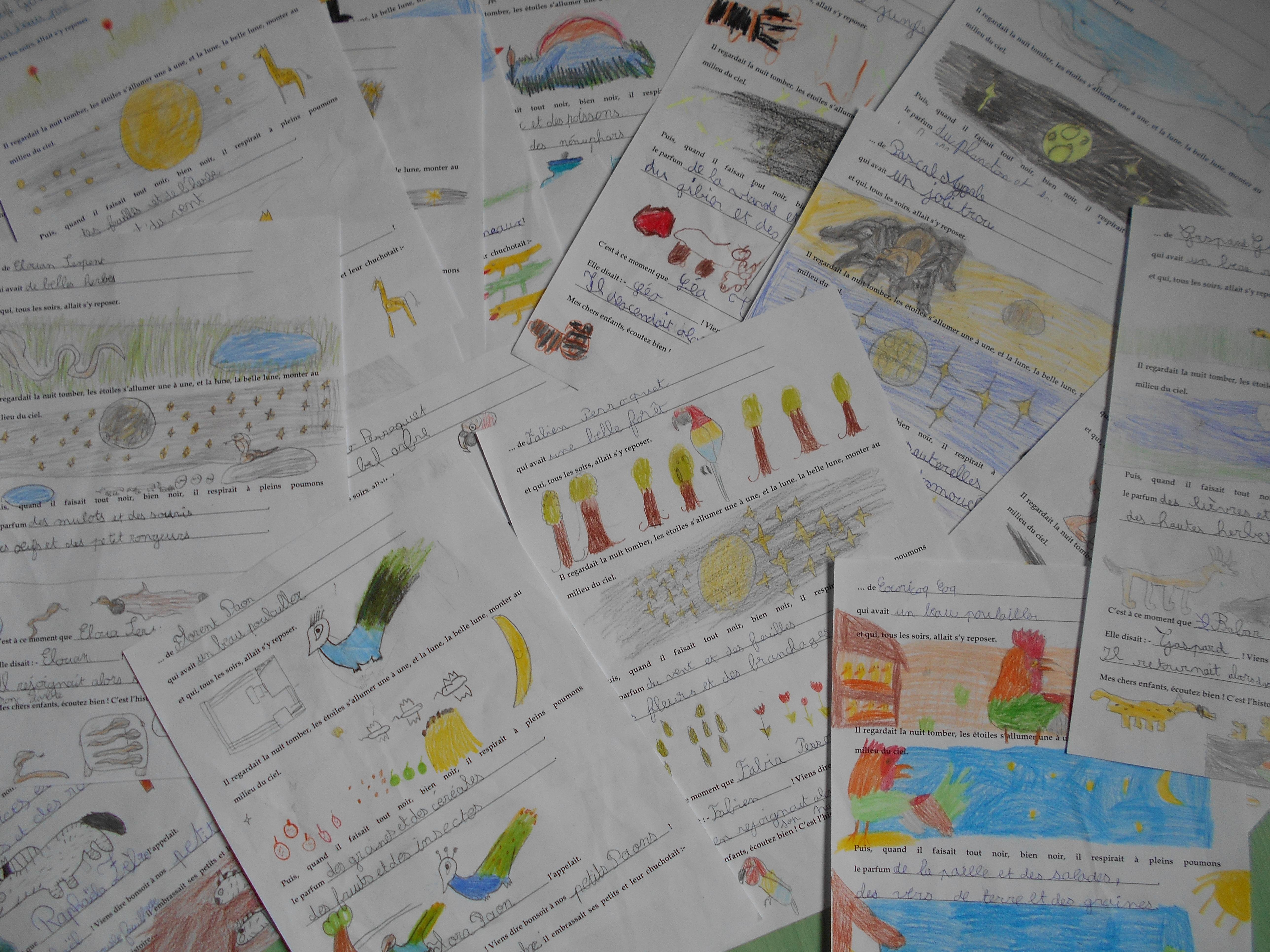 L'histoire du soir – Littérature et Production d'écrits CE1