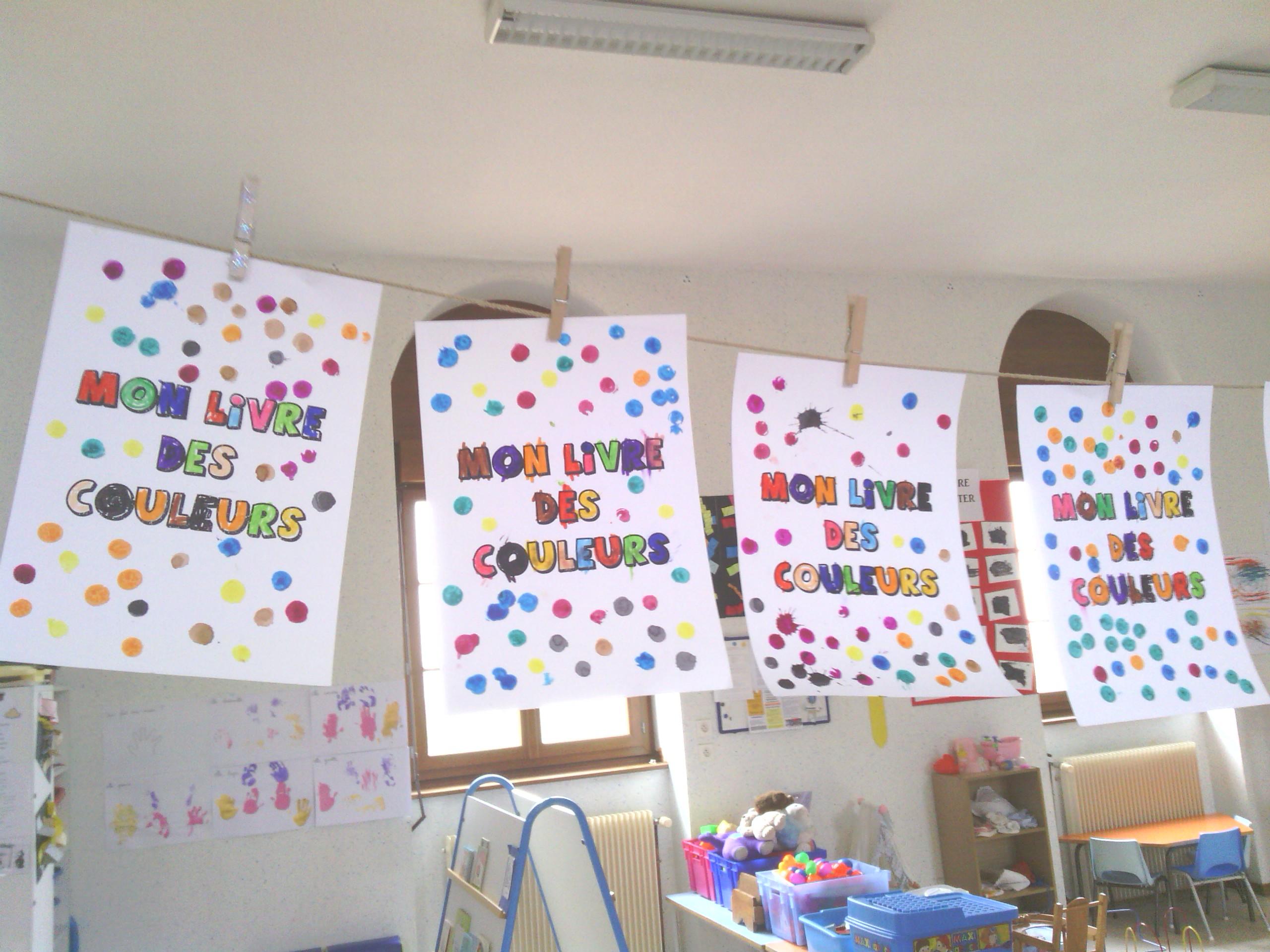Livre des couleurs pour la maternelle – PS