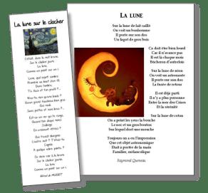 lune poésie