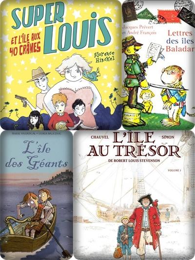 Littérature Jeunesse Cycle 3 Par Thème : littérature, jeunesse, cycle, thème, îles, Littérature, CM1/CM2