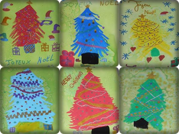 Dessins de Noël rapides avec les marqueurs peinture POSCA