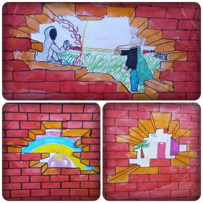 Le mur en arts visuels – CM1/CM2