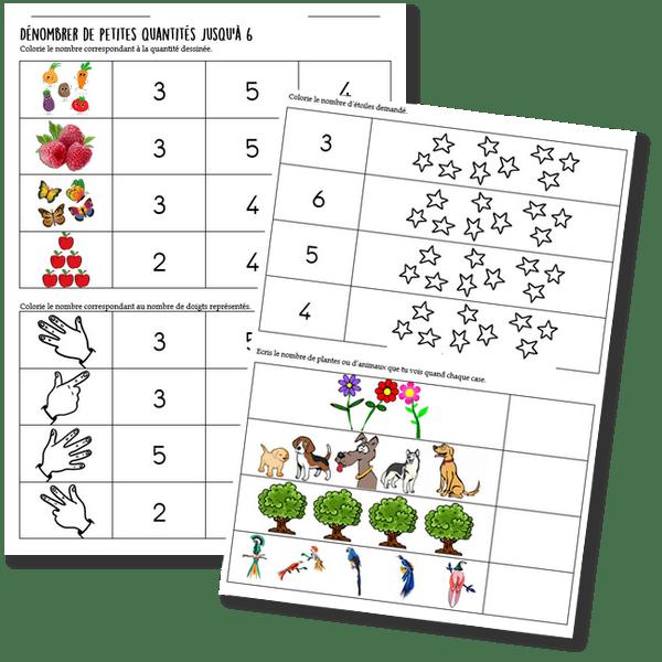 Vers les maths GS Période 1 : Le mémory des nombres