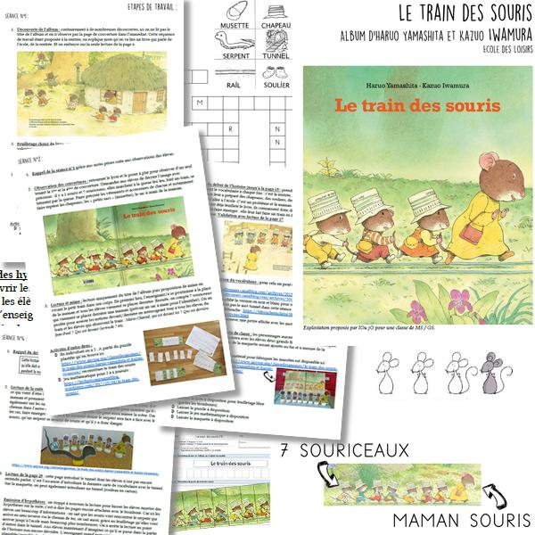 Séquence de littérature – Le train des souris MS/GS