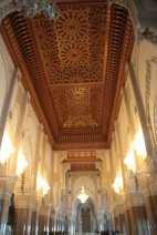 Salle de prière - Mosquée Hassan 2 - Photo du toit ouvrant