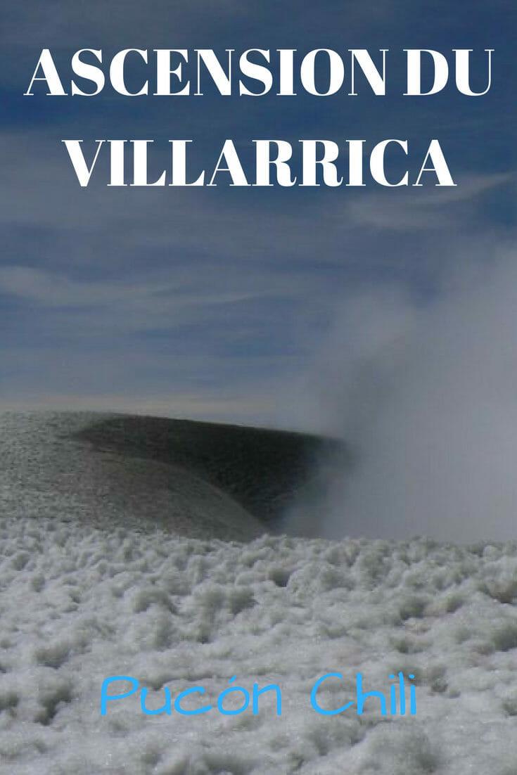 Mon expérience, des photos et des informations utiles pour réaliser l'ascension du volcan actif nommé le Villarrica au Chili. #volcan #Villarrica #chili