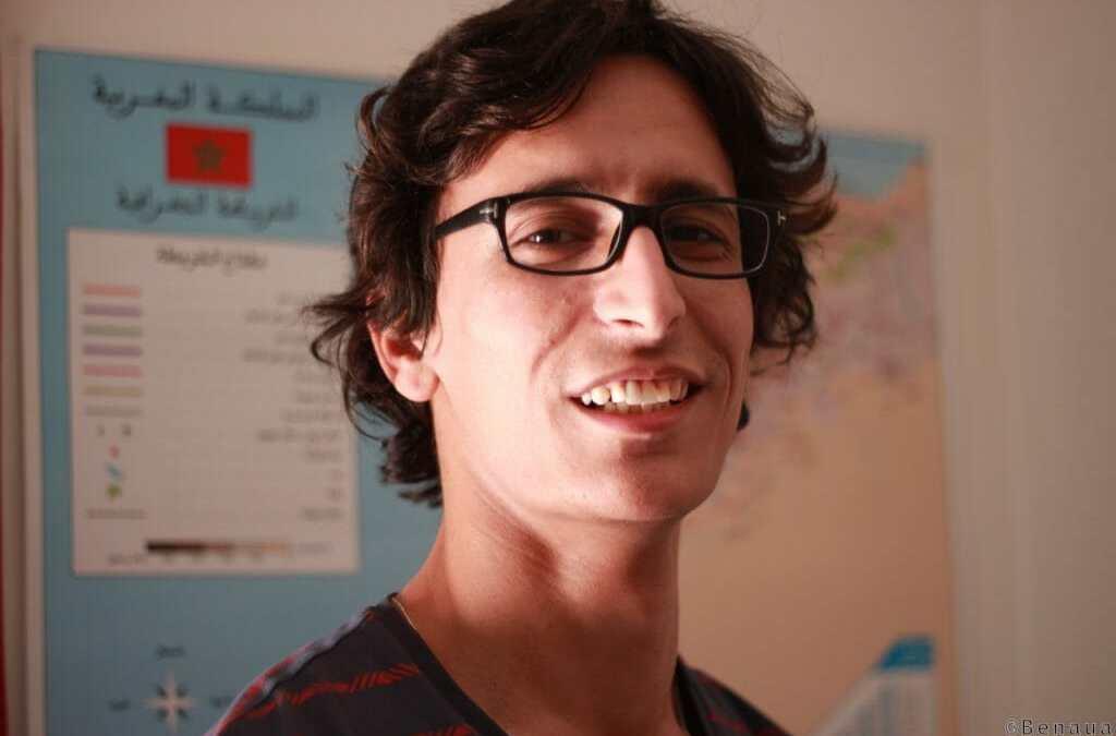 La liberté: rêve de bonheur d'un marocain